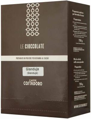 Картинка для Растворимое какао COSTADORO Le Cioccolate Gianduja Chocolate 750 гр.