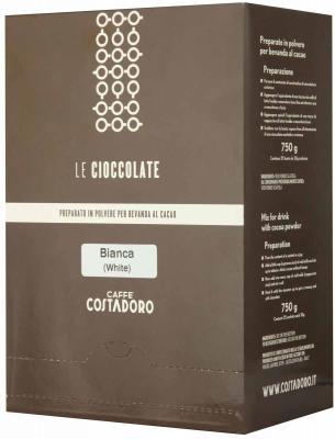 Картинка для Растворимое какао COSTADORO Le Cioccolate White Chocolate 750 гр.