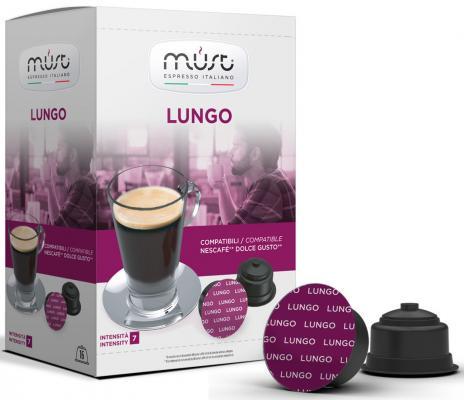 Картинка для Кофе в капсулах MUST Dolce Gusto: Lungo 300 грамм