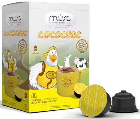 Картинка для Кофе в капсулах MUST Dolce Gusto: Cocochoc 300 грамм