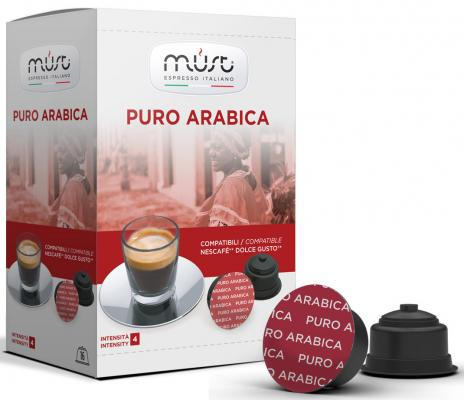 Кофе в капсулах MUST Dolce Gusto - Puro Arabica 300 грамм must n puro arabica 10шт