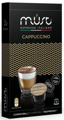 Картинка для Кофе в капсулах MUST Nespresso - Cappucino 20 грамм