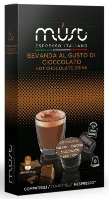 Картинка для Кофе в капсулах MUST Nespresso - Cioccolato 91 грамм