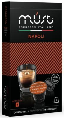Картинка для Кофе в капсулах MUST Nespresso - Napoli 50 грамм