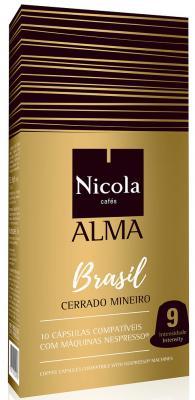 Кофе в капсулах Nicola Alma Brasil 84 грамма кофе в капсулах tassimo карт нуар кафе лонг интенс 128г