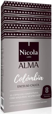 Кофе в капсулах Nicola Alma Colombia 84 грамма кофе в капсулах tassimo карт нуар кафе лонг интенс 128г