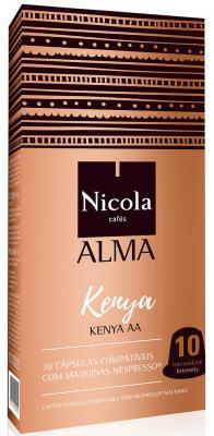 Картинка для Кофе в капсулах Nicola Alma Kenya 84 грамма