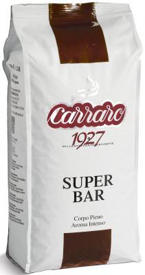 Картинка для Кофе в зернах Carraro Super Bar 1000 грамм