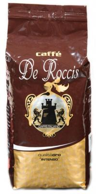 Кофе в зернах De Roccis Oro Intenso 1000 грамм caffe de roccis de roccis extra 1kg кофе в зернах