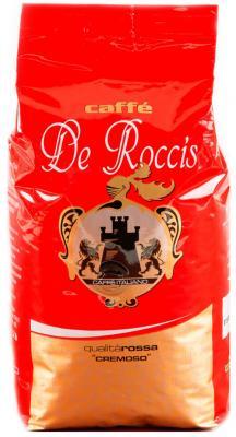 Картинка для Кофе в зернах De Roccis Rossa Cremoso 1000 грамм