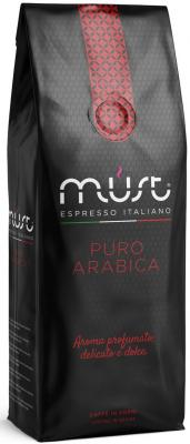 Картинка для Кофе в зернах MUST Pure Arabica 1000 грамм
