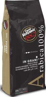 Картинка для Кофе в зернах Vergnano Arabica 250 грамм