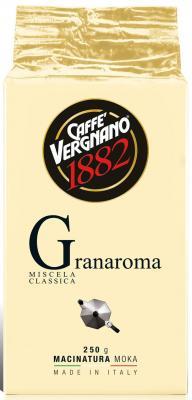 Картинка для Кофе молотый Vergnano Gran Aroma 250 грамм