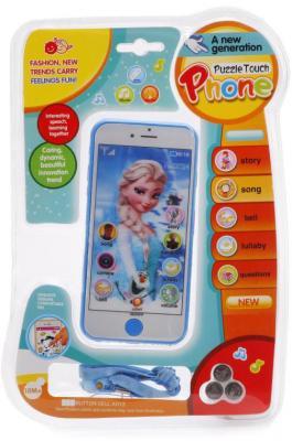 Интерактивная игрушка Shantou Сотовый телефон от 18 месяцев в ассортименте B1444562 сотовый телефон maxvi t5 dark blue