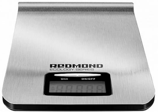 Весы кухонные электронные Redmond RS-M732 макс.вес:5кг серебристый цена 2017