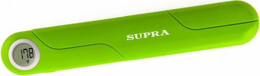 Весы кухонные электронные Supra BSS-4102 макс.вес:5кг зеленый цена 2017