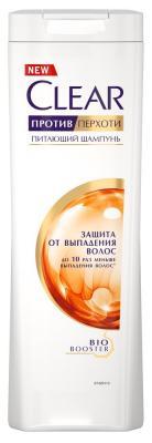 Шампунь Clear Защита от выпадения волос 400 мл 67484970 шампунь clear v a защита от выпадения волос д муж 400мл от
