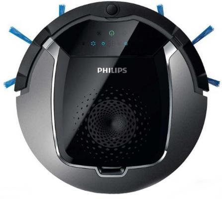 лучшая цена Робот-пылесос Philips FC8822/01 сухая влажная уборка серебристый чёрный