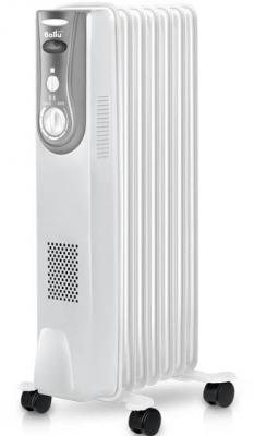 Масляный радиатор BALLU Level BOH/LV-07 1500 Вт обогрев колеса для перемещения белый