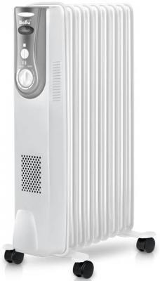 Масляный радиатор BALLU Level BOH/LV-09 2000 2000 Вт колеса для перемещения обогрев белый
