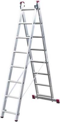 Лестница KRAUSE 010285 2х8 универсальная лестница цена