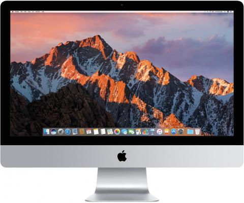 Фото - Моноблок 21.5 Apple iMac 4096 x 2304 Intel Core i7-7700 16Gb 256 Gb AMD Radeon Pro 560 4096 Мб macOS серебристый Z0TL000436 моноблок 27 apple imac 5120 x 2880 intel core i5 7600 8gb 3tb amd radeon pro 575 4096 мб macos серебристый z0tq002bx
