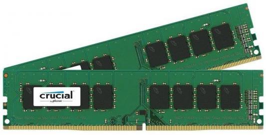 Оперативная память 8Gb (2x4Gb) PC4-19200 2400MHz DDR4 UDIMM CL17 Crucial CT2K4G4DFS824A