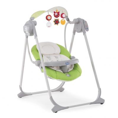 Качели электронные Chicco Polly Swing Up (green) из ремонта afina polly green