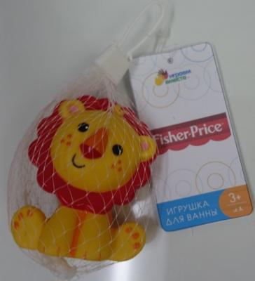 Игрушка для купания для ванны ИГРАЕМ ВМЕСТЕ Львенок Fisher-Price 8.2 см игрушка для купания для ванны играем вместе львенок fisher price 8 2 см