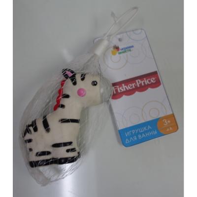Игрушка для купания для ванны ИГРАЕМ ВМЕСТЕ Зебра 7 см игрушка для купания для ванны играем вместе львенок fisher price 8 2 см