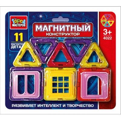 Магнитный конструктор Город мастеров DT-4022-R 11 элементов DT-4022-R лонгслив dzeta