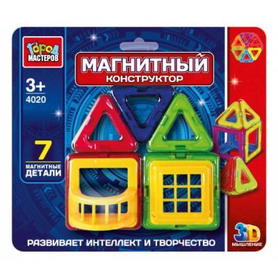 Купить Магнитный конструктор Город мастеров DT-4020-R 7 элементов DT-4020-R, Пластмассовые конструкторы