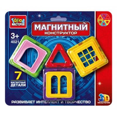 Купить Магнитный конструктор Город мастеров DT-4021-R DT-4021-R, Пластмассовые конструкторы