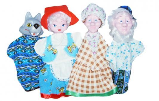 КУКОЛЬНЫЙ ТЕАТР КРАСНАЯ ШАПОЧКА в кор.3шт анданте кукольный театр красная шапочка
