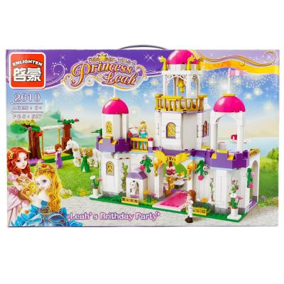 Конструктор ENLIGHTEN BRICK Leah's Brithday Party 587 элементов BRICK2610 lepin 06020 1325pcs ninja final fight of destiny s bounty building blocks compatible 70738 brick toy