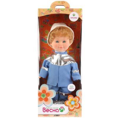 Кукла ВЕСНА МИТЯ СПАСАТЕЛЬ 34 см со звуком В1741/о весна кукла митя почтальон