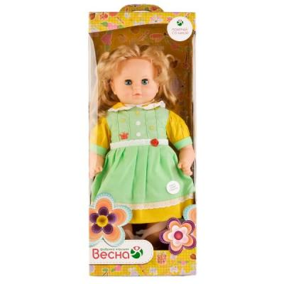 Купить Кукла ВЕСНА ДАШЕНЬКА 2 54 см со звуком В2462/о, пластик, текстиль, Куклы фабрики Весна