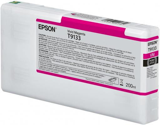 Epson I/C Vivid Magenta (200ml) epson i c light cyan 200ml