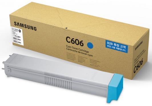 Картридж HP CLT-C606S для Samsung CLX-9350ND CLX-9352NA CLX-9352 20000 Голубой
