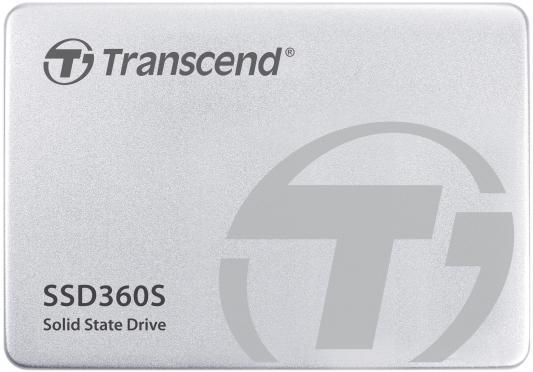 Накопитель 2.5 SSD Transcend SATA-III S360 64Gb <TS64GSSD360S> kingfast ssd 128gb sata iii 6gb s 2 5 inch solid state drive 7mm internal ssd 128 cache hard disk for laptop disktop
