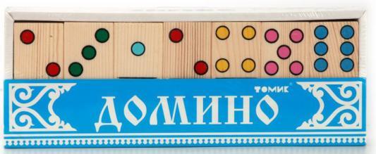 Настольная игра Томик домино ТОЧКИ