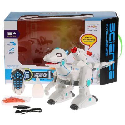 Робот радиоуправляемый Shantou Gepai 88001 со стрелами со звуком светящийся B1719429 боевой робот shantou gepai воин галактики 30 см двигающийся со звуком светящийся 6007
