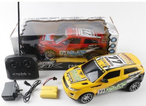 Машина р/у на аккум. со светом, цвет в ассорт. 320-2 в кор. в кор.2*18шт цена и фото
