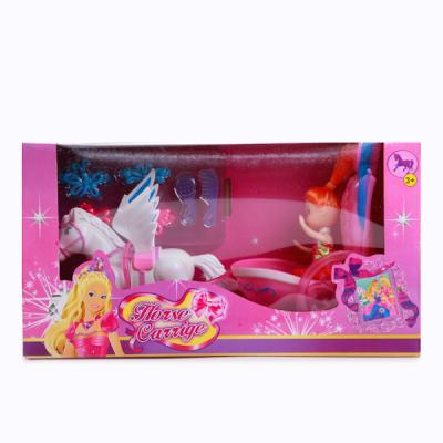 Игровой набор Shantou Лошадь с коляской игровые фигурки bondibon игровой набор лошадь с жеребенком