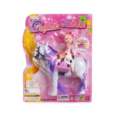 Игровой набор Shantou Лошадь с куклой игровые фигурки bondibon игровой набор лошадь с жеребенком