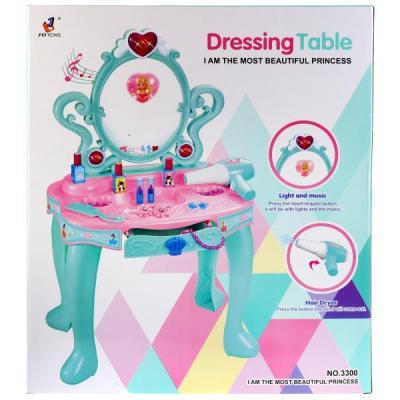 Набор игровой туалетный столик на бат. свет+звук, с аксесс. в кор. в кор.6шт игровой набор 1toy туалетный столик цветок