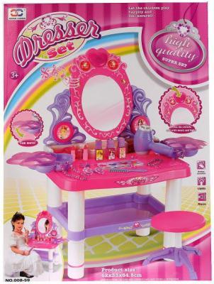 Набор игровой туалетный столик на бат + табурет, с аксесс. в кор. в кор.6шт artevaluce табурет столик magic 29х41 см