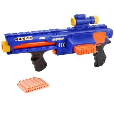 Пистолет Shantou Gepai Super shock wave синий B1049102 пистолет shantou gepai 1402b синий 1404g519