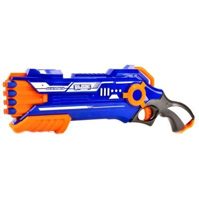 Пистолет Shantou Gepai Blaze storm синий оранжевый B1183810 пистолет shantou gepai 1402b синий 1404g519