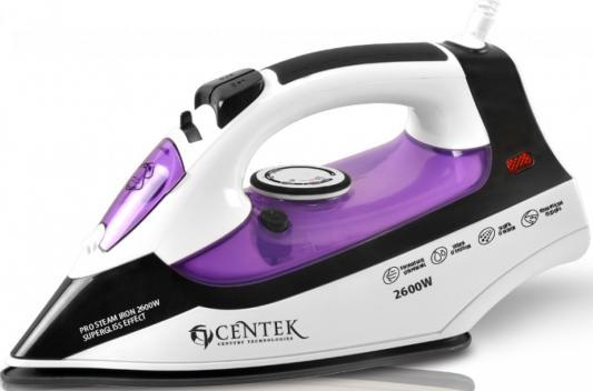 Утюг Centek CT-2338 2600Вт фиолетовый centek ct 1357 фиолетовый